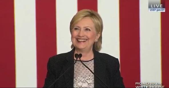 Hillary-EconWarrenMI-Smile
